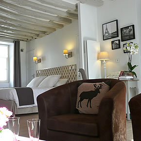Maison hote paris centre for Chambre hote paris
